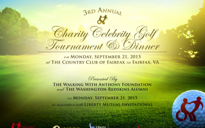3rd Annual Charity Celebrity Golf Tournament and Dinner