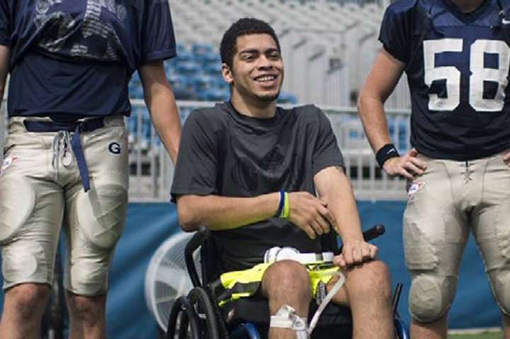 Spinal Cord Injury Warrior: Ty Williams