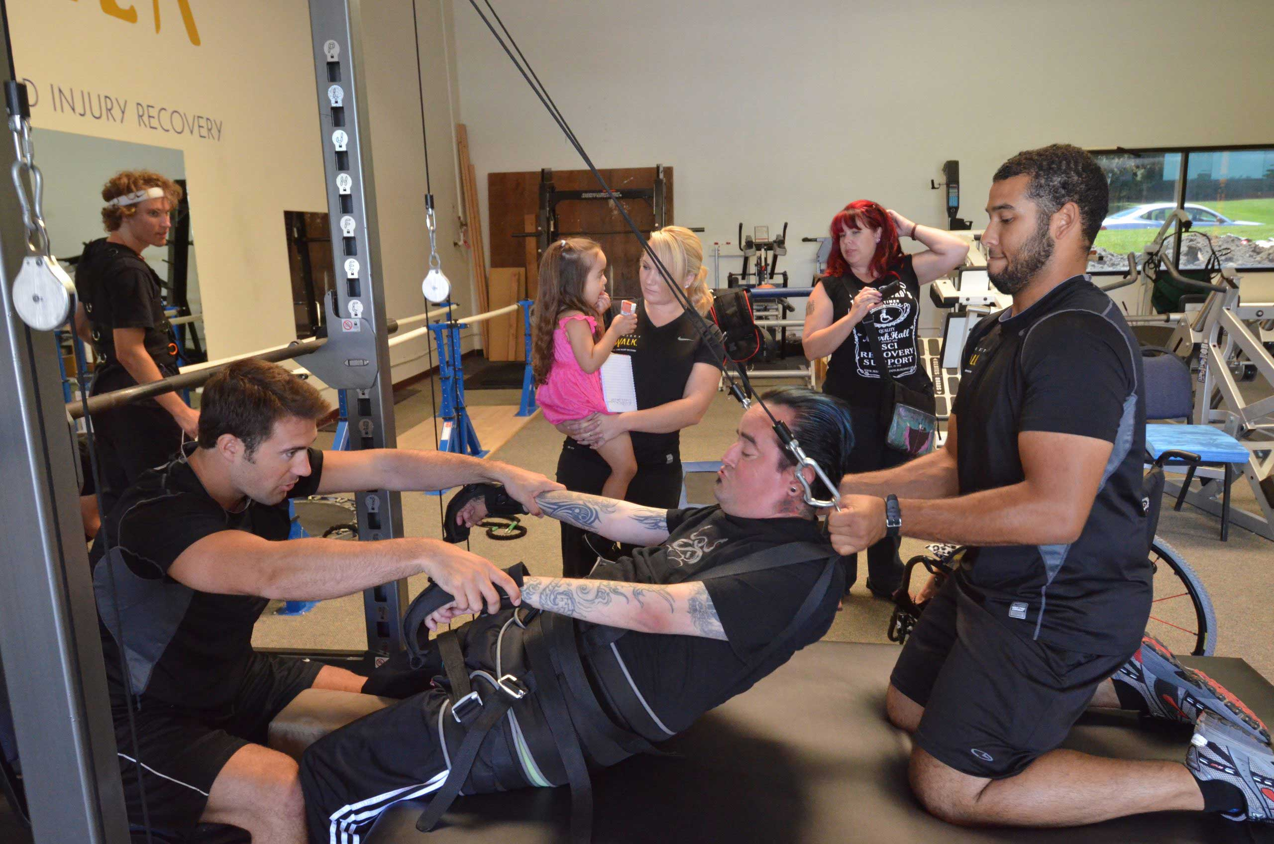 SCI Victims spinal cord injury rehab